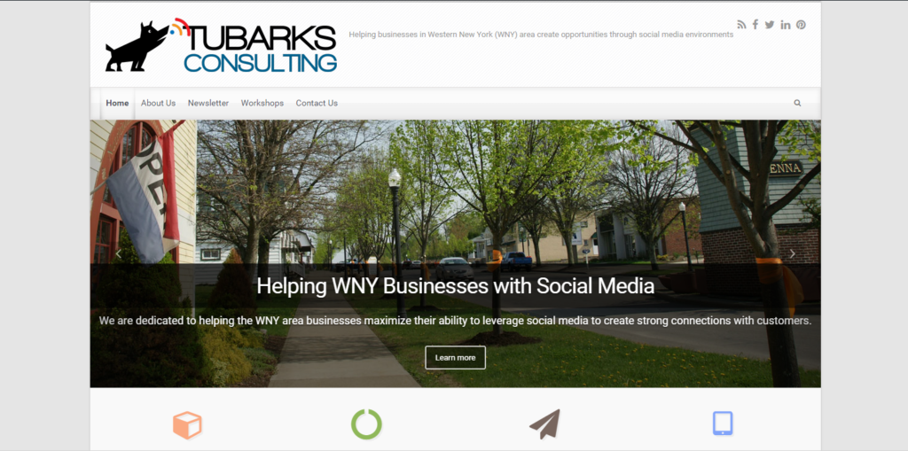 Tubarks Consulting Website