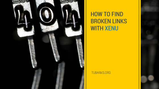 How to Find Broken Links with Xenu